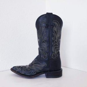 Tony Lama women leather western cowgirl boots sz 5